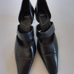 Lederpumps von MEXX in schwarz Größe 40 Absatzhöhe 7 cm