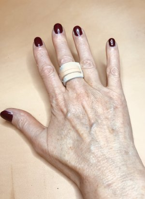 Statement ring wolwit-nude