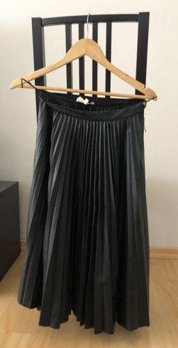 Closet London Skórzana spódnica czarny