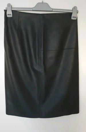 Pimkie Spódnica z imitacji skóry czarny