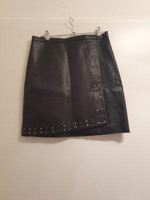 Orsay Leren rok zwart
