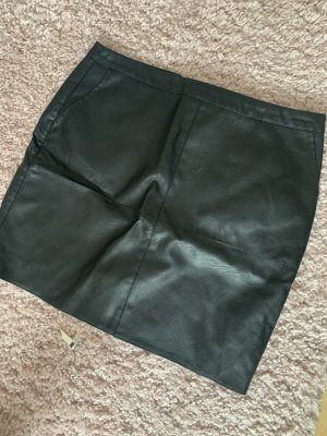 C&A Leather Skirt black