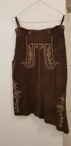 Almrausch Salzburger Trachtenmode Spódnica ciemnobrązowy