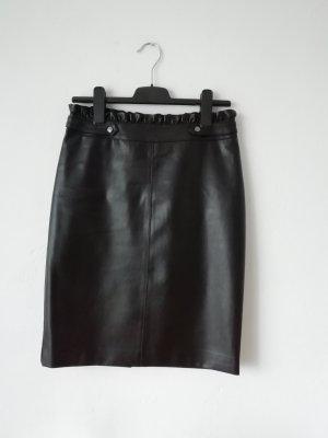 Orsay Leather Skirt black