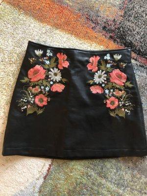 Pimkie Falda de cuero multicolor Poliéster