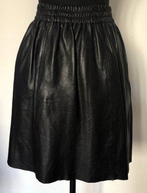 Rika Leather Skirt black