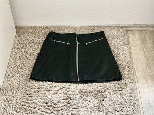 Reserved Leather Skirt black