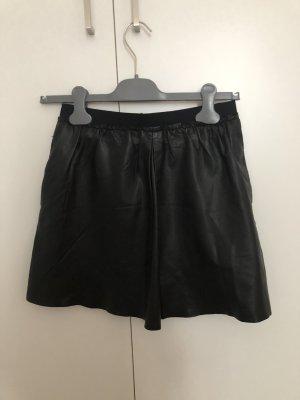 Marc O'Polo Falda de cuero negro