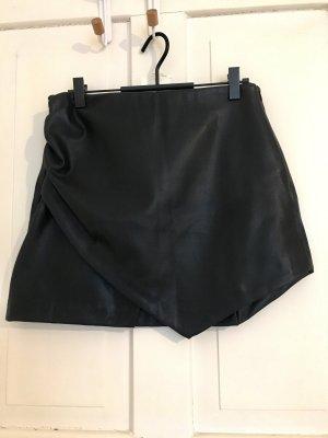 Zara Trafaluc Jupe en cuir noir