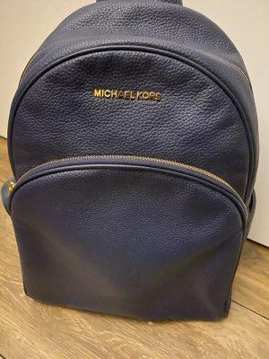 Michael Kors Sac à dos pour ordinateur portable bleu foncé cuir
