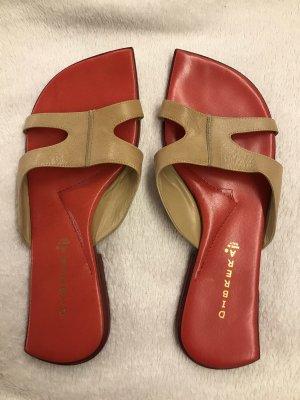 Dibrera Sandalo outdoor beige-rosso