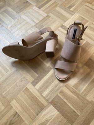 H&M Premium Sandales à talons hauts et lanière multicolore