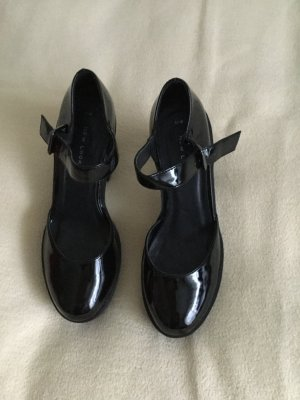 Scarpa Mary Jane nero Pelle