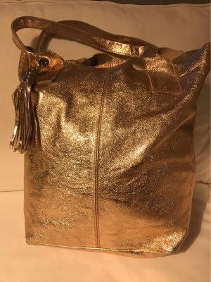 Borse in Pelle Shopper multicolore cuir