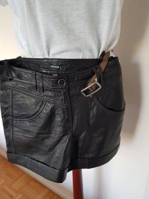 Jean Paul Pantalone in pelle nero