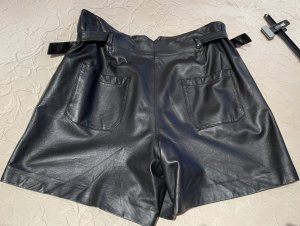 Set Leather Trousers black leather