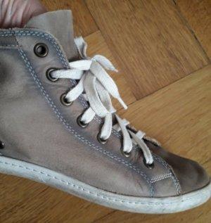 """Ledersneaker mit Farbverlauf"", Gr. 40"