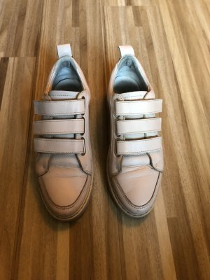 Another A Velcro Sneakers dusky pink leather