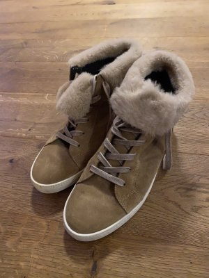 Paul Green High top sneaker beige