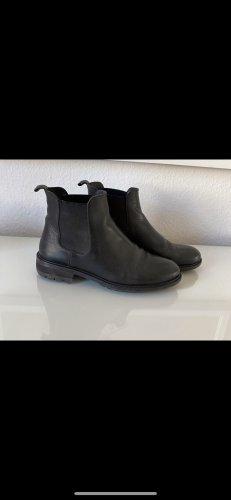 Zign Slip-on Booties black