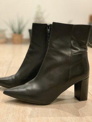 H&M Botas de tacón alto negro