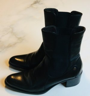 Walter Bauer Chelsea Boot noir cuir