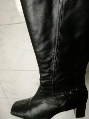 Bottes à tige large noir