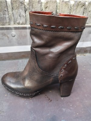Airstep High Boots brown-black brown leather
