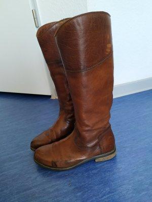 Jackboots light brown-brown