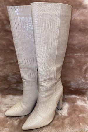 Wysokie buty na obcasie Wielokolorowy