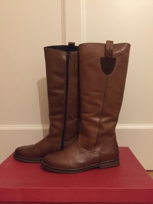 Riding Boots cognac-coloured-brown