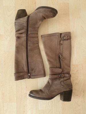 Marco Tozzi Winter Boots grey brown