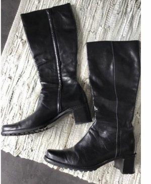 Laura Bellariva Riding Boots black leather