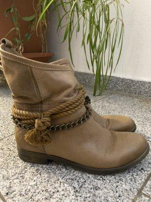 Inuovo Borceguíes marrón claro-camel