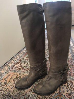 Botas de equitación gris verdoso-caqui