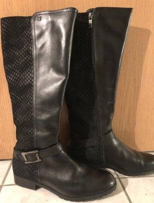 Caprice Riding Boots black