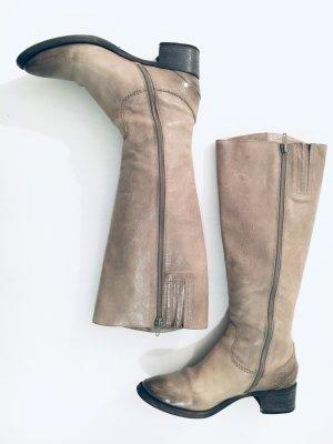Lloyd Winter Boots grey leather