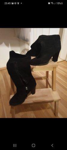 Tamaris Buty nad kolano czarny