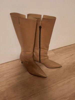 Brunate Heel Boots beige