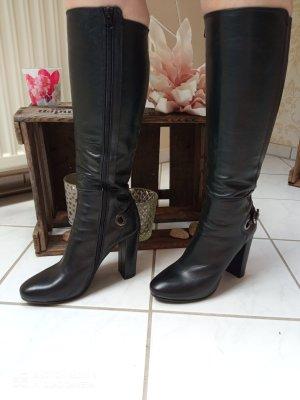 Rose Noire Wysokie buty na obcasie czarny