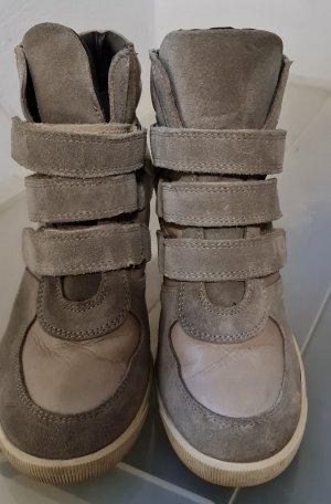Heel Sneakers oatmeal-camel