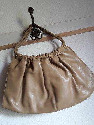 Apart Fashion Torebka typu worek piaskowy brąz-jasnobeżowy