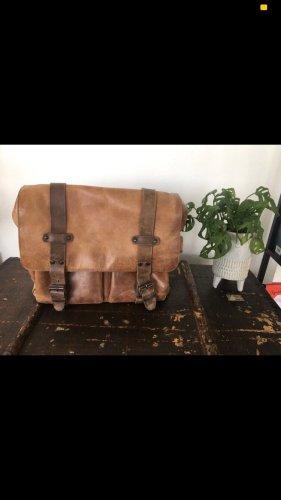 aunts & uncles Briefcase brown-light brown