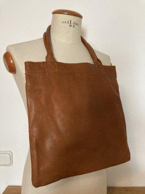 paul marius Pouch Bag light brown leather
