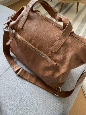 Ledertasche Braun, Kiomi, Weekender, Shoppinbag, Handtasche