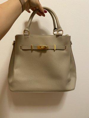 Borse in Pelle Italy Handbag grey-grey brown