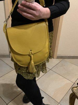 LederTasche Neu in gelb