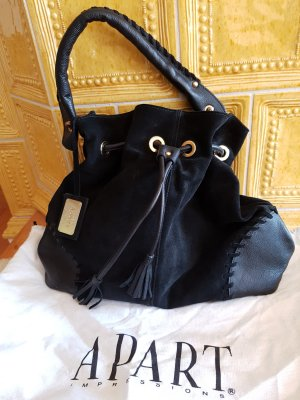 Apart Carry Bag black leather