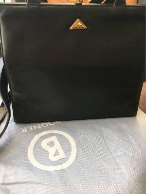Bolso con correa verde oscuro