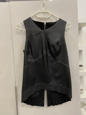 Zara Basic Top linea A nero-argento